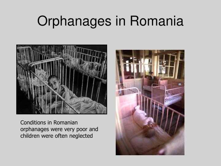Orphanages in romania