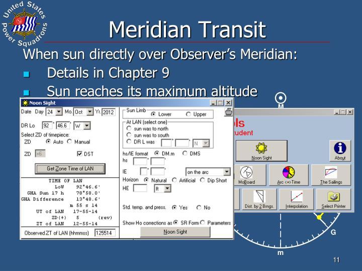 Meridian Transit