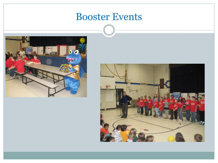 Booster Events