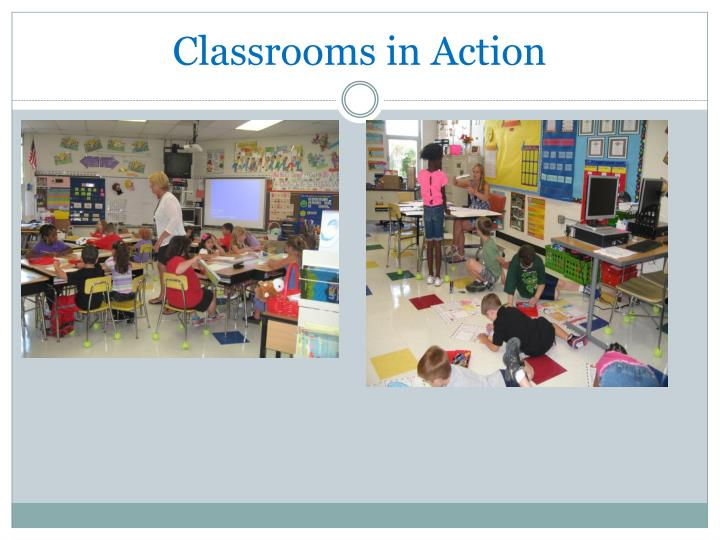 Classrooms in Action