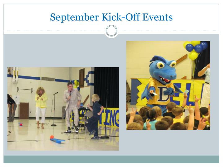 September Kick-Off Events