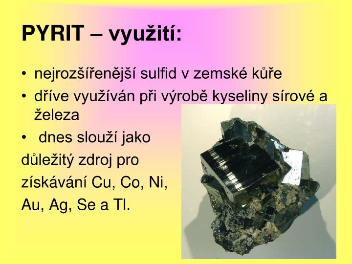 PYRIT – využití: