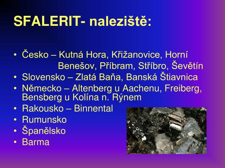 SFALERIT-