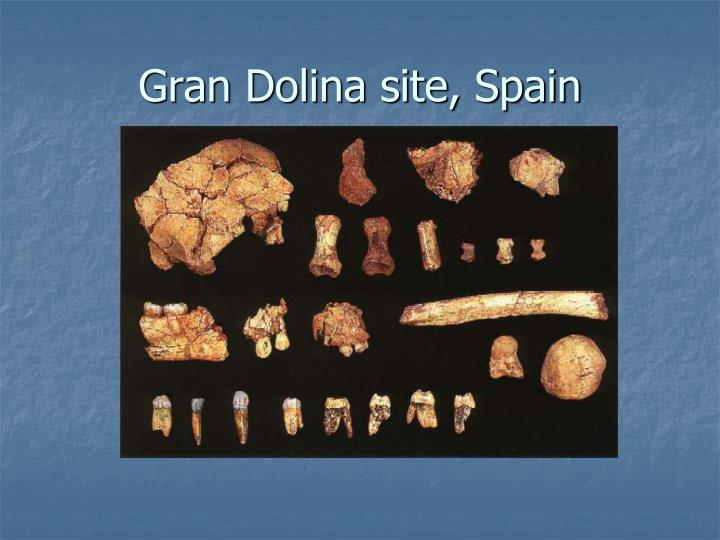 Gran Dolina site, Spain