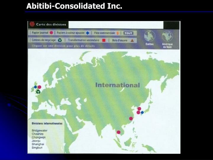 Abitibi-Consolidated Inc.