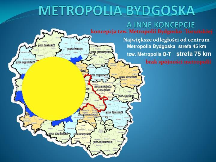 koncepcja tzw. Metropolii Bydgosko -Toruńskiej