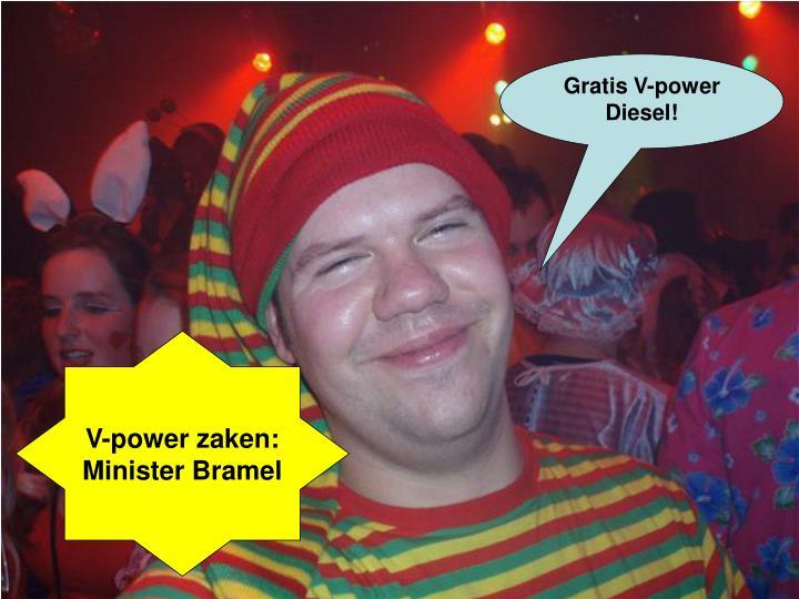 Gratis V-power Diesel!