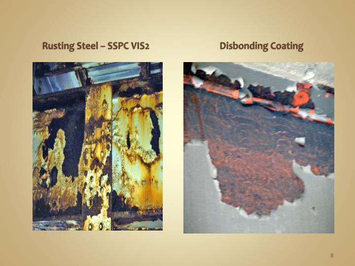 Rusting Steel – SSPC VIS2