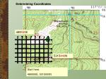 determining coordinates