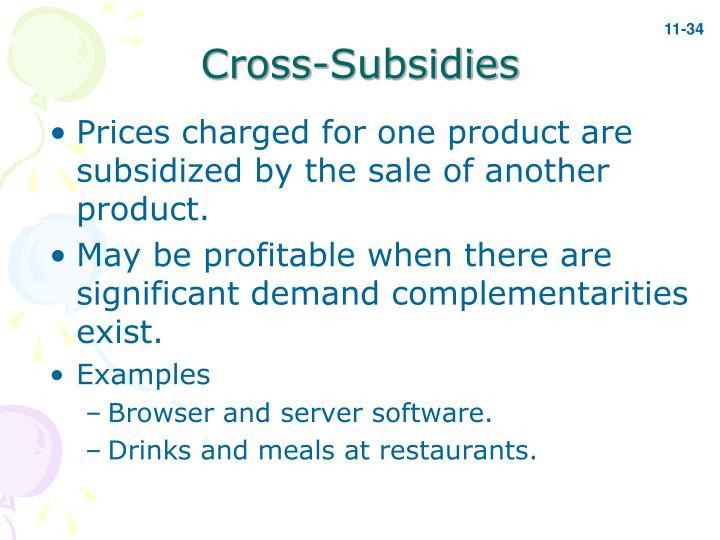 Cross-Subsidies