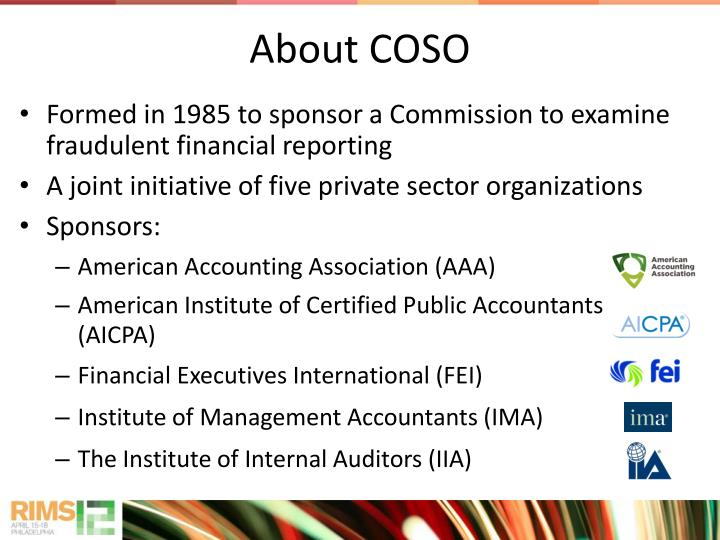 About COSO