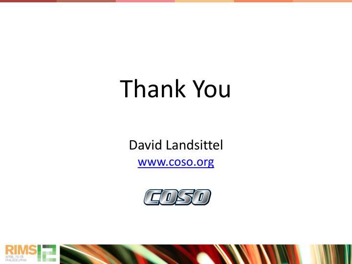 David Landsittel