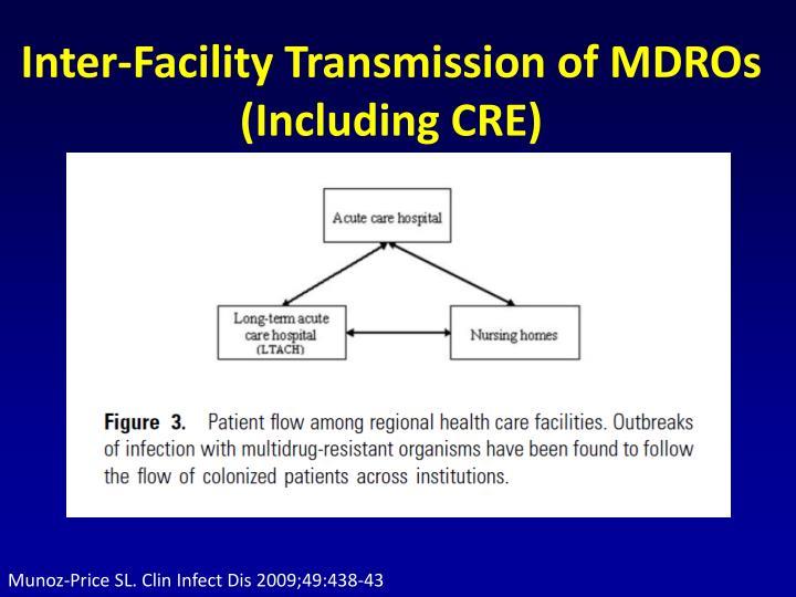 Munoz-Price SL. Clin Infect Dis 2009;49:438-43