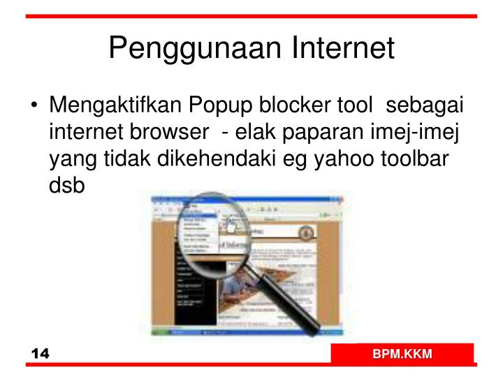 Penggunaan Internet