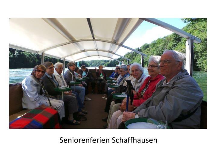 Seniorenferien Schaffhausen