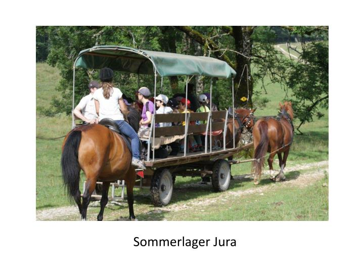 Sommerlager Jura