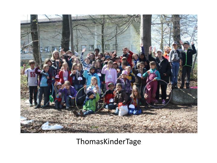 ThomasKinderTage