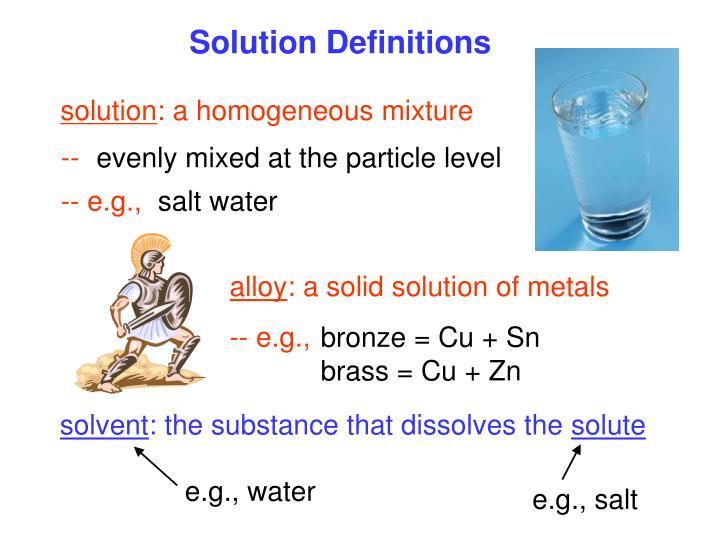 e.g., water