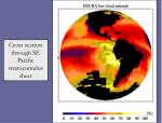 cross section through se pacific stratocumulus sheet