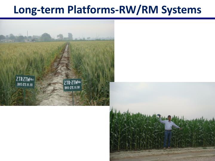 Long-term Platforms-RW/RM Systems