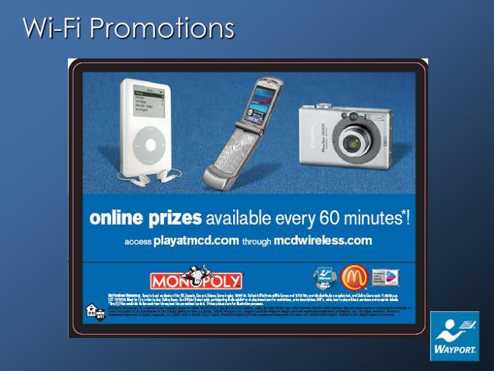 Wi-Fi Promotions