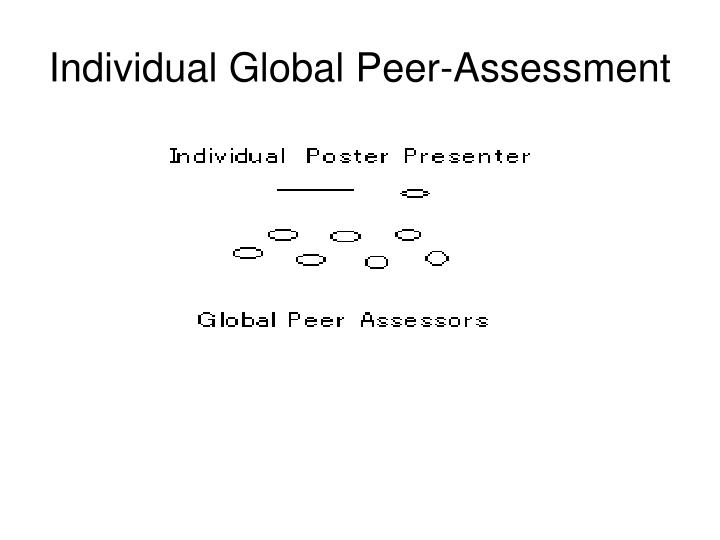 Individual Global Peer-Assessment