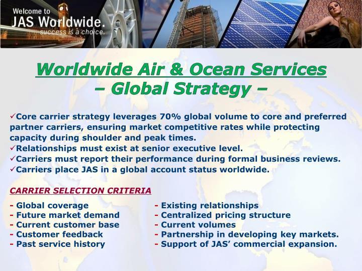 Worldwide Air & Ocean Services