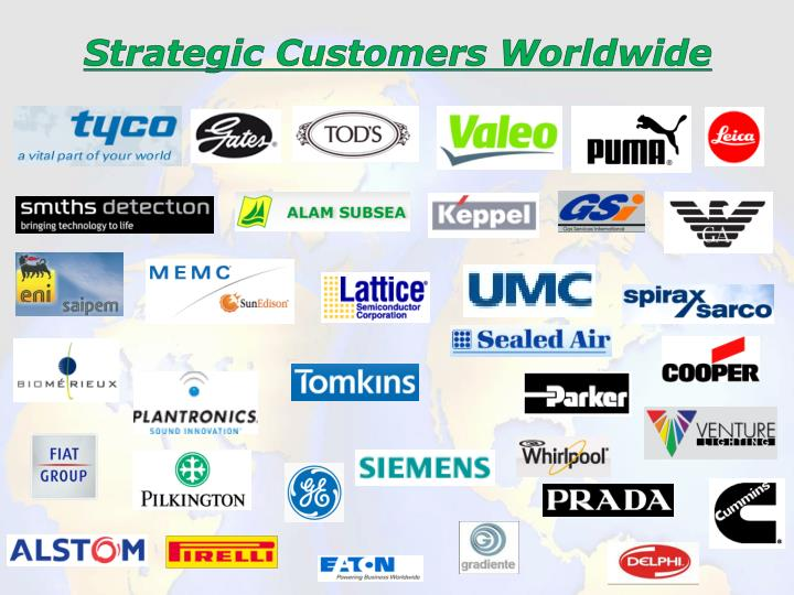 Strategic Customers Worldwide