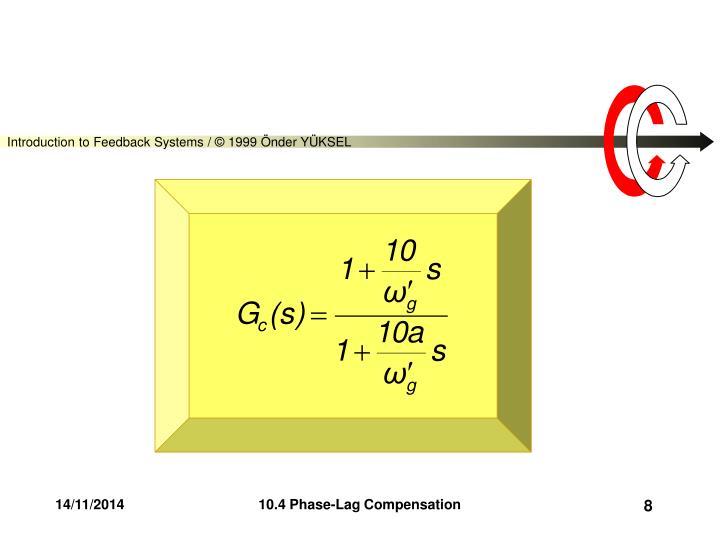 10.4 Phase-Lag Compensation