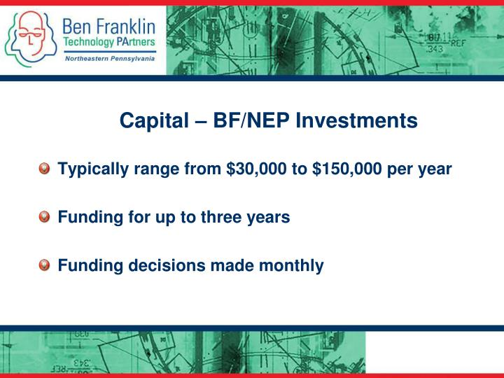 Capital – BF/NEP Investments