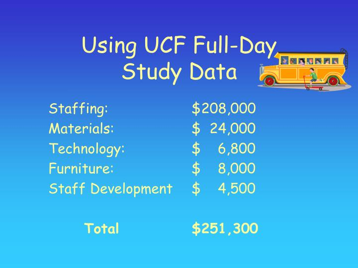 Using UCF Full-Day