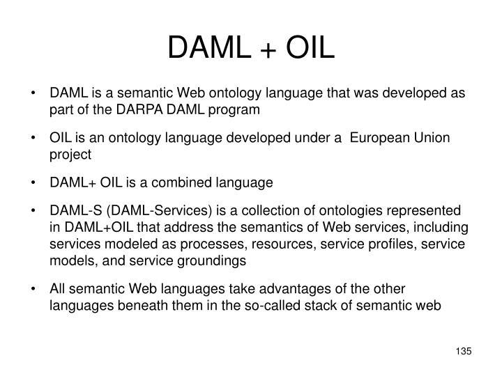 DAML + OIL