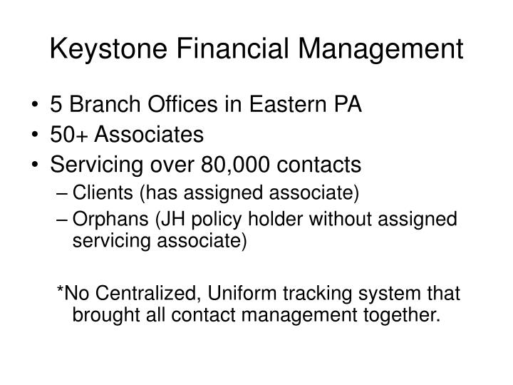 Keystone Financial Management