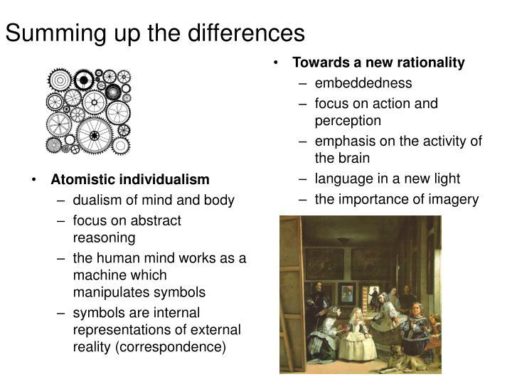 Atomistic individualism