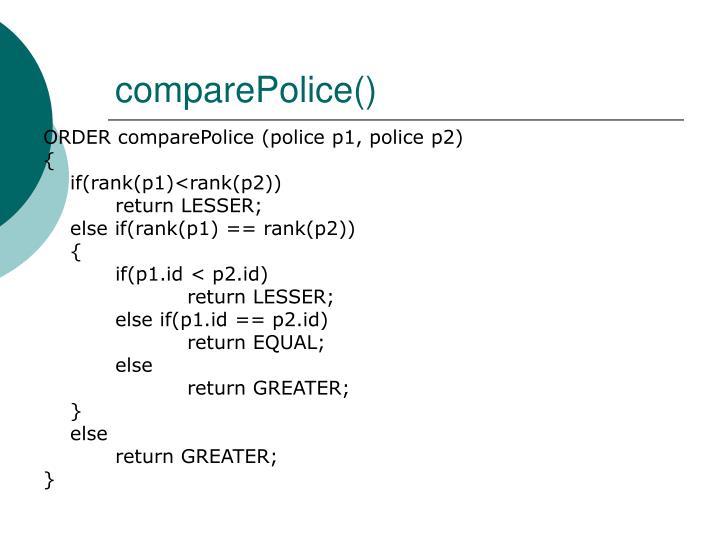 comparePolice()