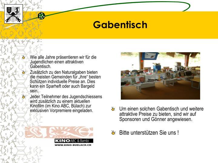 Gabentisch