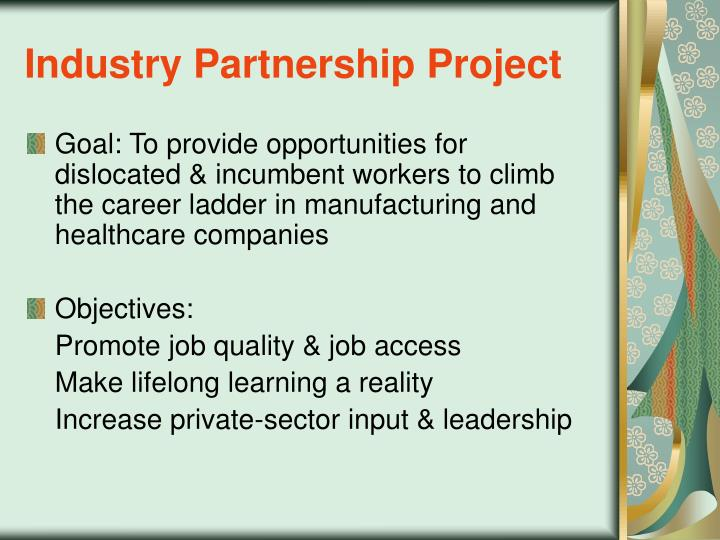 Industry Partnership Project