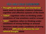 hot and cold cognition