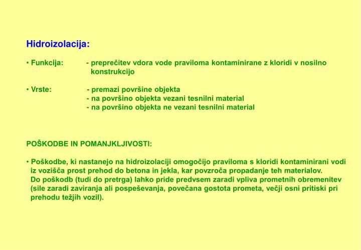 Hidroizolacija: