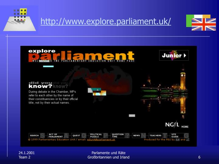 http://www.explore.parliament.uk/