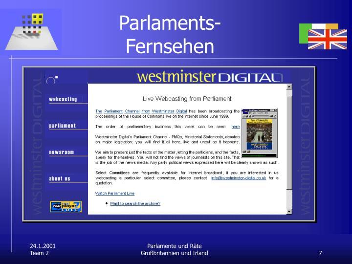 Parlaments-