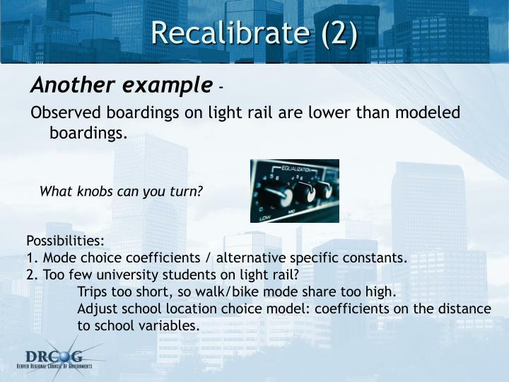 Recalibrate (2)