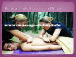 body to body massage in dubai