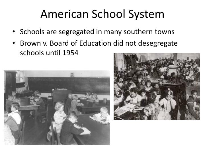 American School System