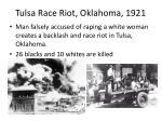 tulsa race riot oklahoma 1921