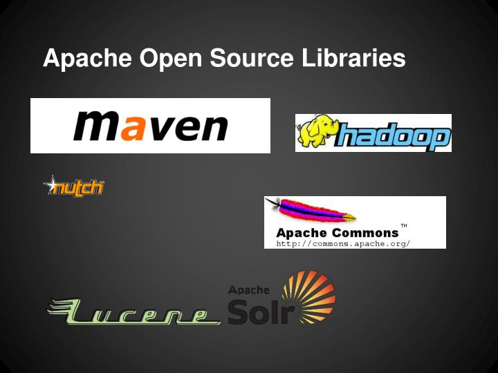 Apache Open Source Libraries