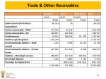 trade other receivables