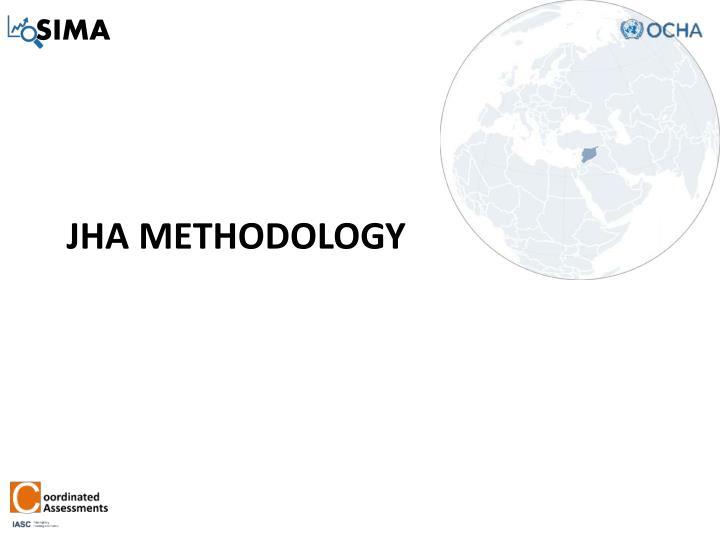 JHA methodology