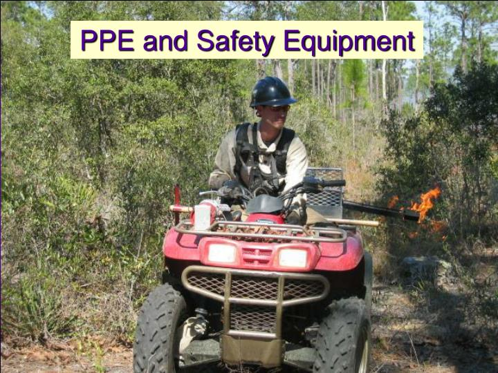 PPE and Safety Equipment