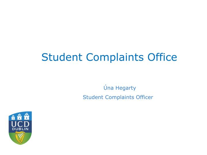 Student Complaints Office